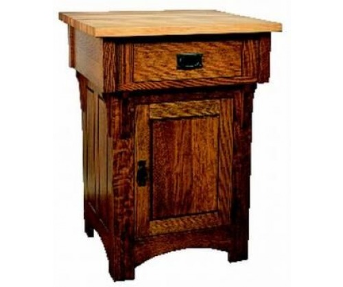 Bridger Mission Small Butcher Block Island