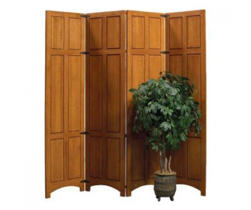 Bridger Mission Four Panel Privacy Divider