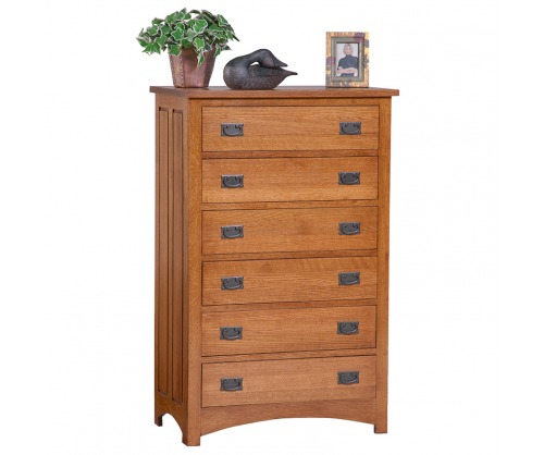 Bridger Mission 6 Drawer Chest