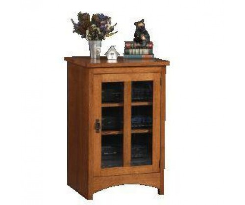 Gallatin Classic Glass Door Cabinet