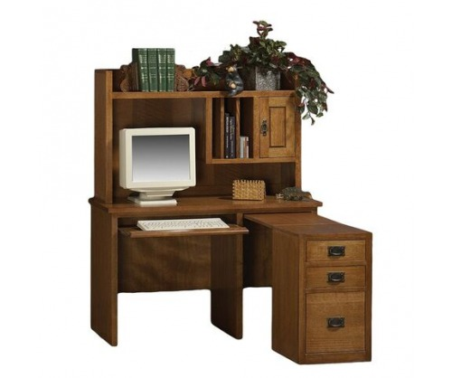 Gallatin Classic Slide Out Desk Hutch