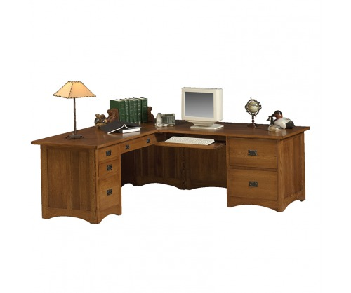 Gallatin Classic Computer File Desk
