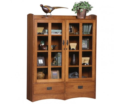 Gallatin Classic Display Case with drawers