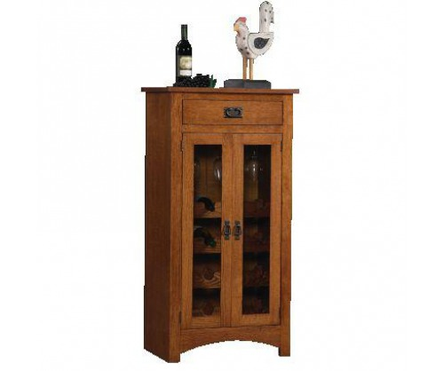 Gallatin Classic Mission Wine Cabinet