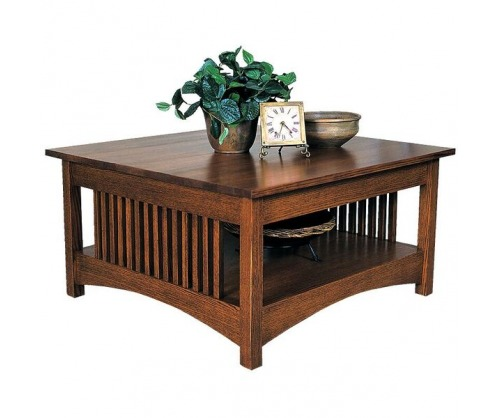 Gallatin Classic Square Coffee Table