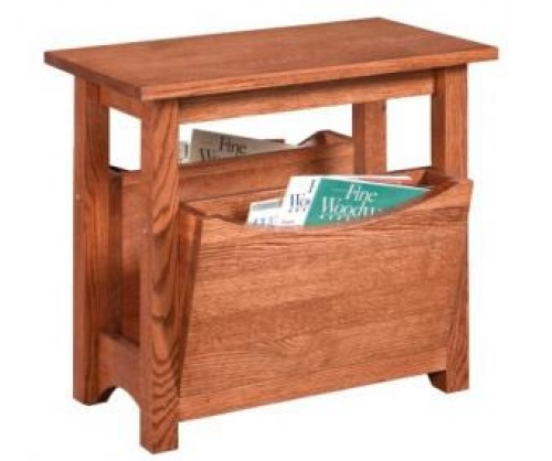 Gallatin Classic Magazine Rack/End Table