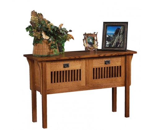 Gallatin Royal Mission Sofa Table