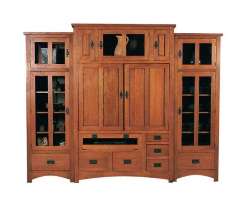 Gallatin Classic Entertainment Cabinet