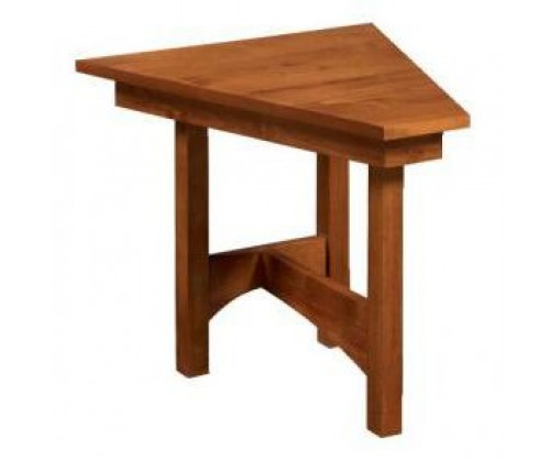 Virginia City Wedge End Table