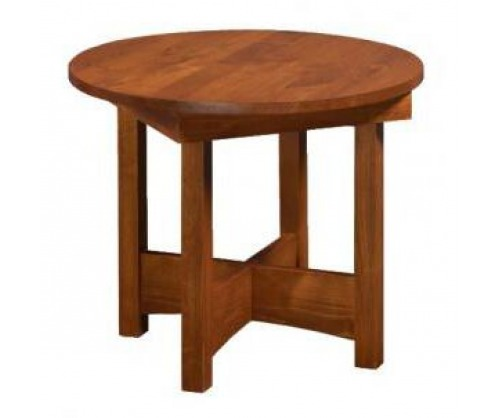Virginia City Round End Table