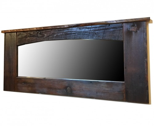 Large Reclaimed Wall Mirror