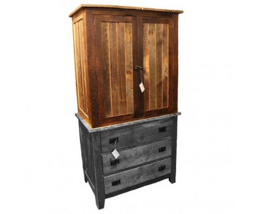 Reclaimed Armoire Wardrobe Top