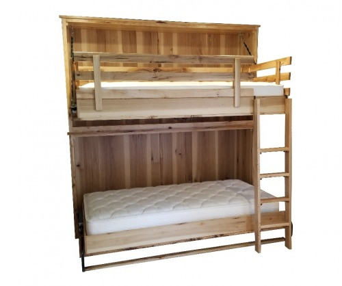 Twin Bunk Murphy Beds