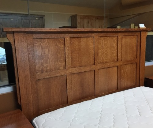 Gallatin Classic Captain's Bed Headboard