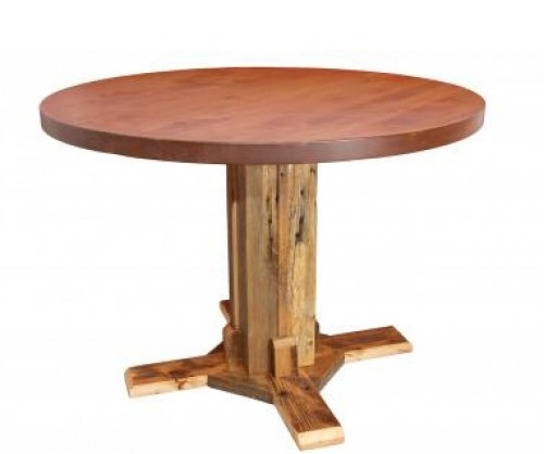Reclaimed Round Table