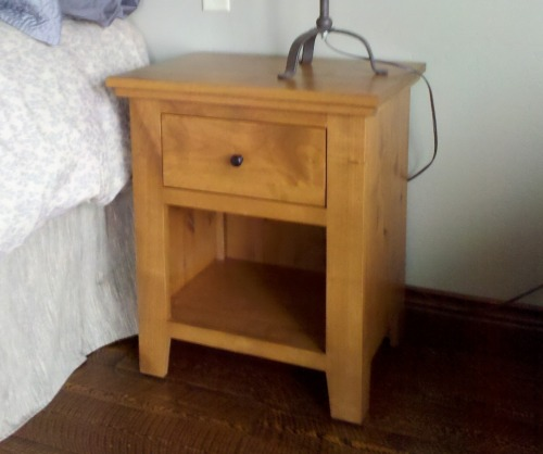 Virginia City One Drawer & Low Shelf  Nightstand