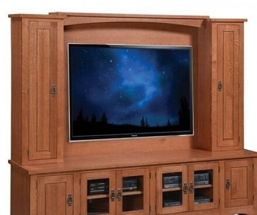 Gallatin Classic Entertainment Hutch