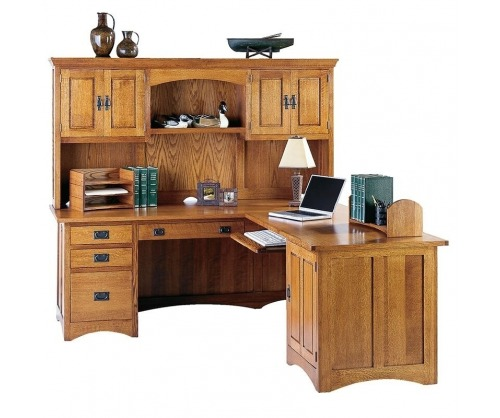 Bridger Mission Desk Hutch Top