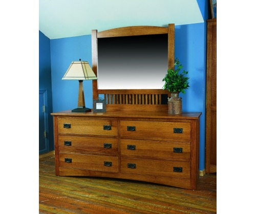 Gallatin Classic Six Drawer Dresser