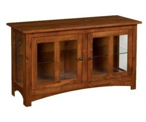 Modern Mission Curio Cabinet