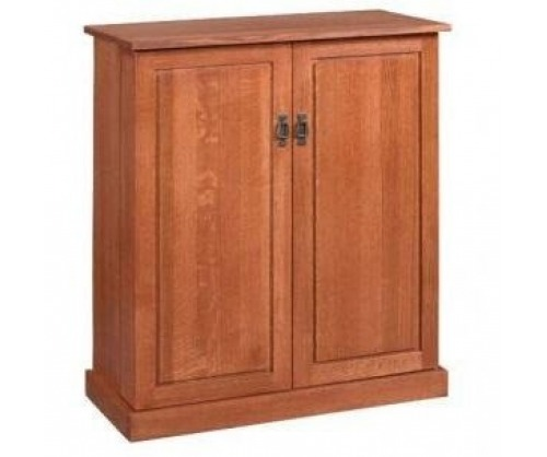 Bridger Mission Closed Bar Cabinet