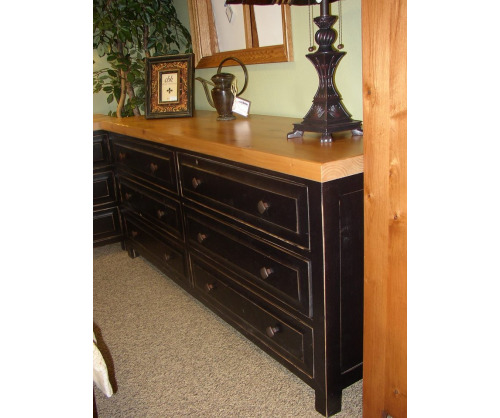 Lincoln 6 Drawer Dresser