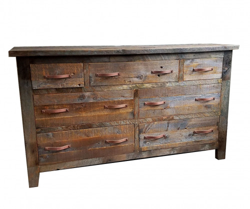Reclaimed 7 drawer dresser
