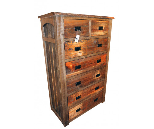 Reclaimed 7 Drawer Chest