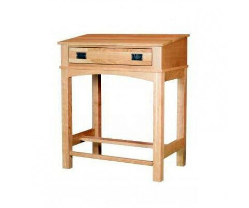Modern Mission Stand Up Writing Desk