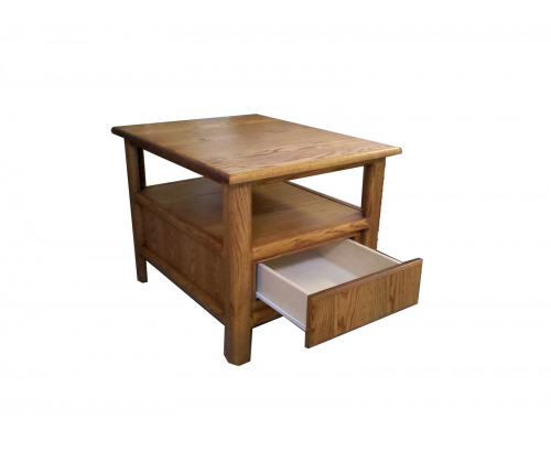 Oak Modern Nightstand