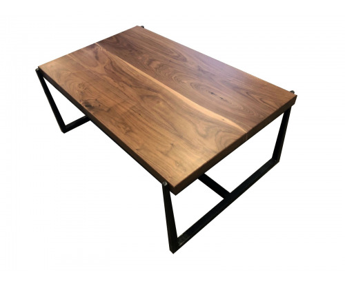 Modern Forged Metal Coffee Table