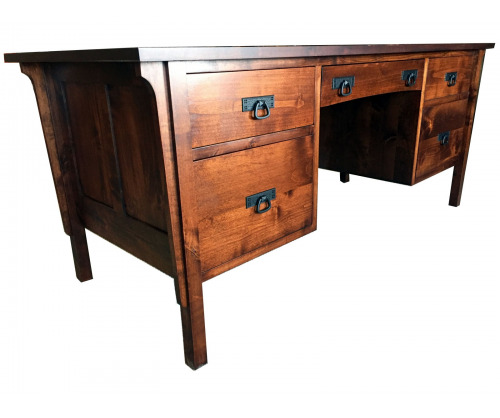 Gallatin Classic Executive Desk - Legal file