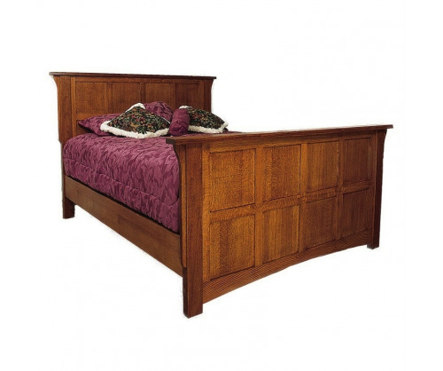 Gallatin Classic Flat Panel Bed
