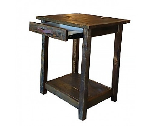 "Reclaimed 18 "" Square Table"