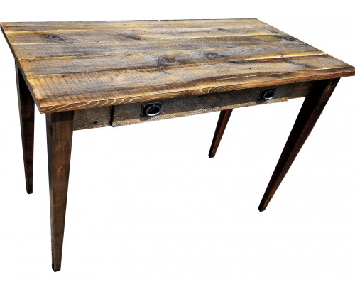 Reclaimed Desk with Tapered Legs